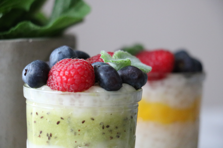 Deser Z Tapioki Z Owocami Biegnij Po Zdrowie
