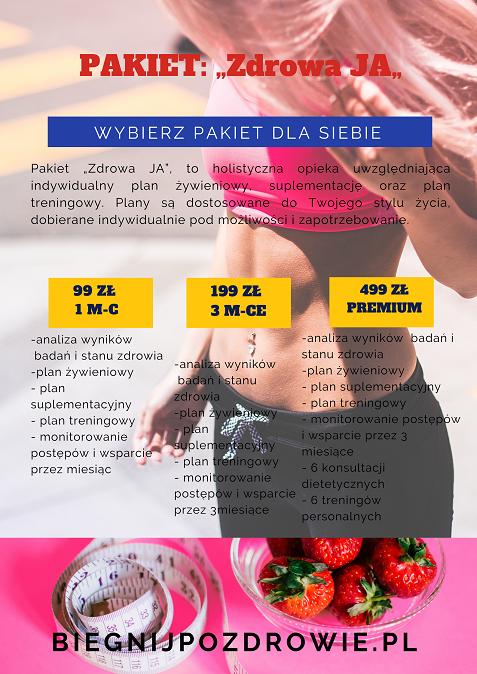 oferta dietetyczna i treningowa
